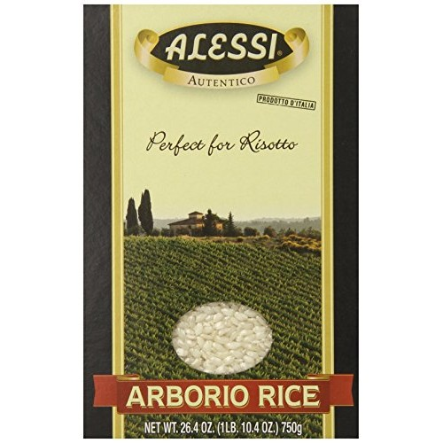 Alessi Rice Arborio, 26.4-Ounce Pack of 5