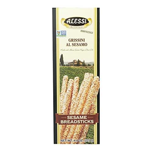 Alessi Breadstick Sesame - 4.4 Oz Pack - 12 per case