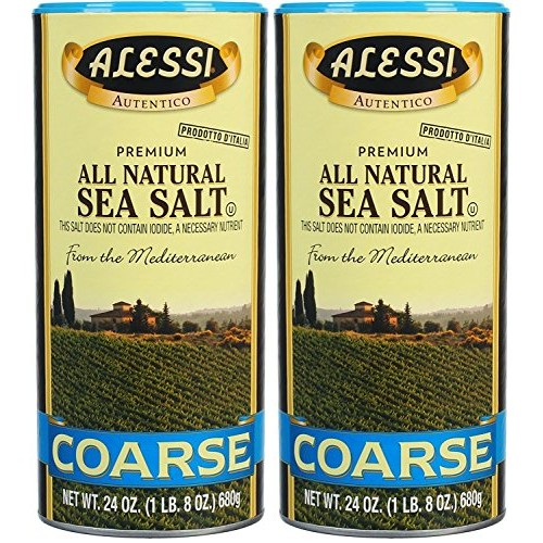 Made Naturally From The Mediterranean Sea - 24 Ounces Each Pack...