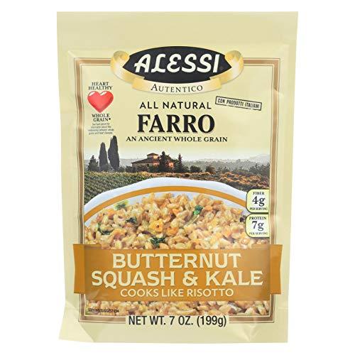 Alessi Butternut Squash and Kale Farro, 7 Ounce - 6 per case.