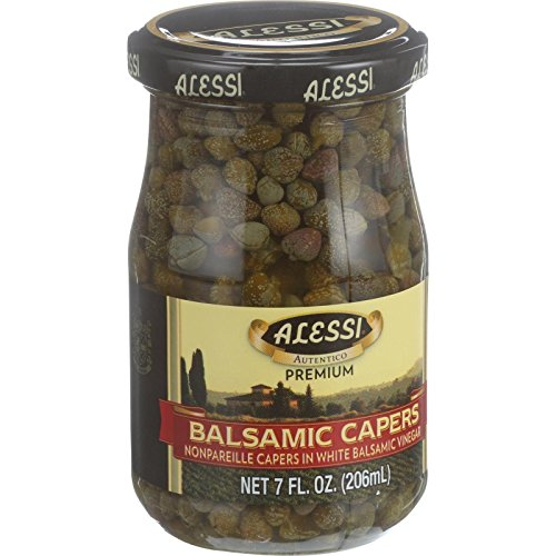 Alessi Caper Balsamic, 7 oz