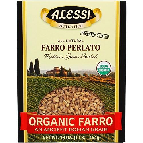 Alessi Organic Farro, 16 Ounce