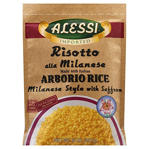 Alessi Milanese Risotto, 8-Ounce Packages Pack of 6