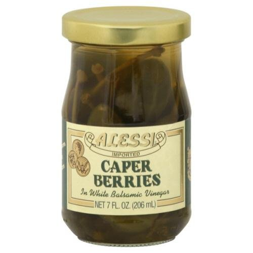Alessi Caperberries, 7-Ounce Pack of 6