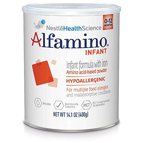 Alfamino Infant Amino Acid Based Infant Formula with Iron, Unfla...