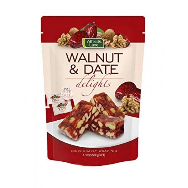 Alfreds Lane Walnut & Date Delights 17.6 oz, 1 Bag