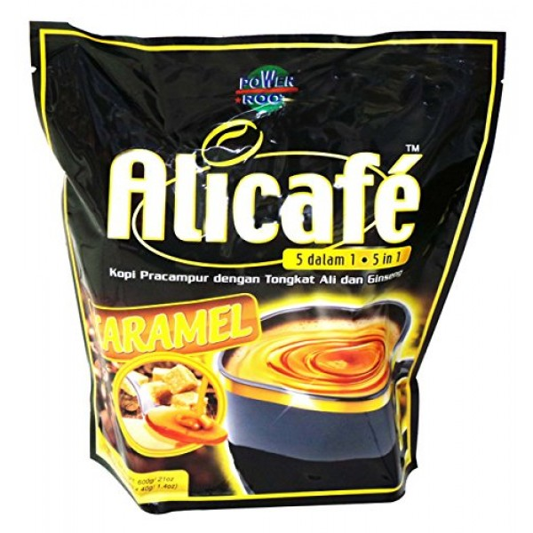Malaysia Alicafe 5 In 1 Instant Coffee With Added Tongkat Ali & ...