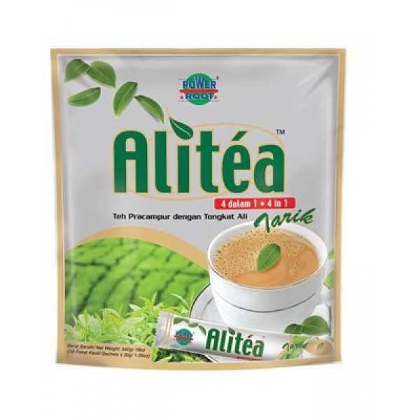 Malaysia Famous Alitea 5 In 1 Instant Tea With Added Tongkat Ali...