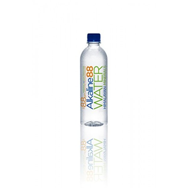 Alkaline88 Pack of 24, Bottled Water, 500 mL