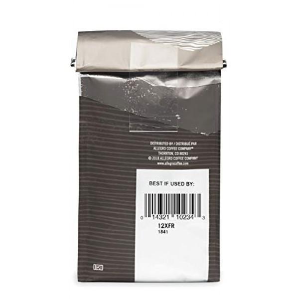 Allegro Coffee Extra Dark French Whole Bean Coffee, 12 oz