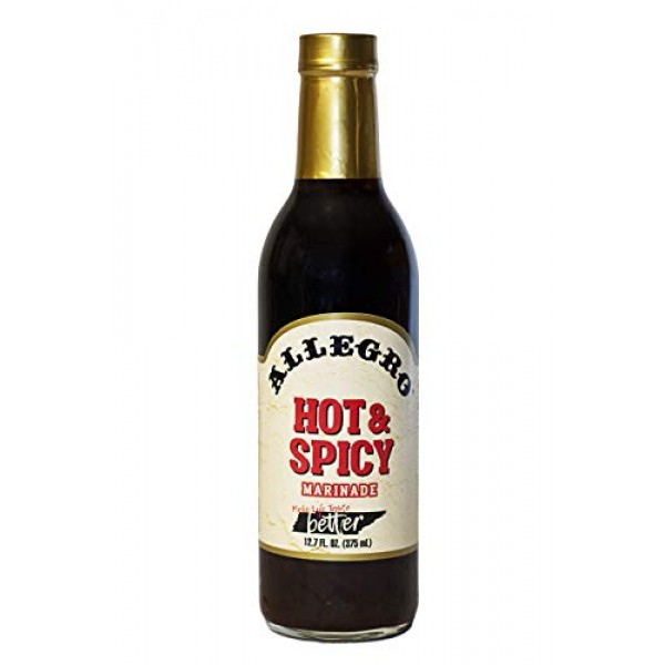 Allegro Marinade - Hot & Spicy Pack of 4