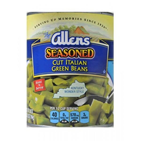 Allens Cut Italian Seasoned Kentucky Wonder Style Green Beans 28...