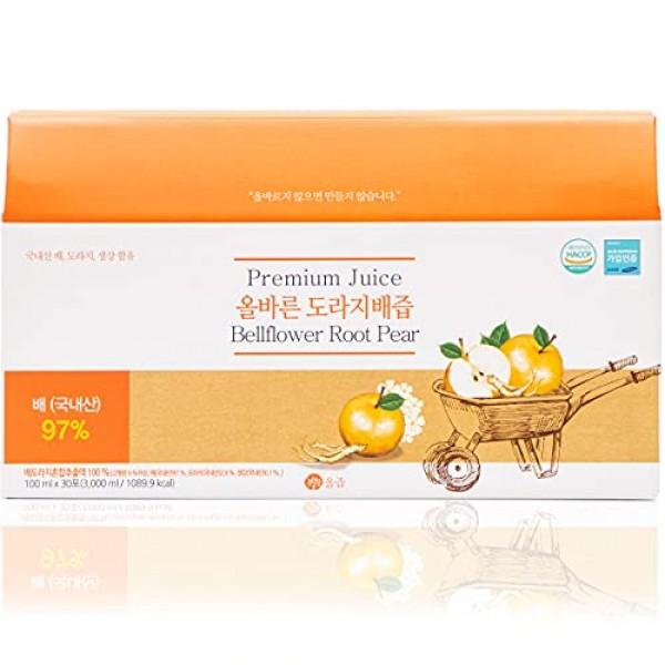 AllJeup Natural Premium Korean Pear & Bellflower Root Juice - Go...