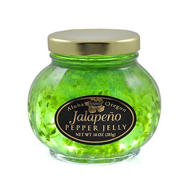 Aloha from Oregon, Jalapeno Pepper Jelly, 10 Ounce