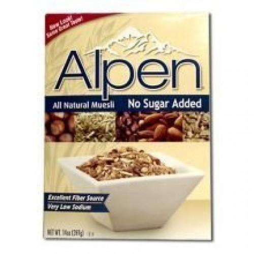Alpen No Sugar Added Cereal, 14 Ounce --12 per case.