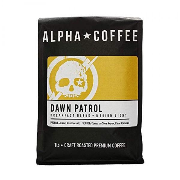 Alpha Coffee - Dawn Patrol - 1 LB Premium Gourmet Craft Light Ro...