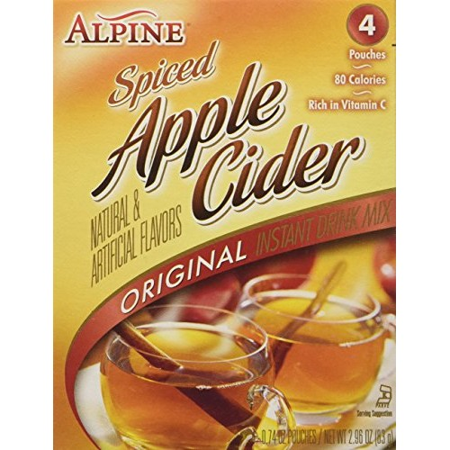 ALPINE Spiced Apple Cider Instant Drink Mix 2-Pack 8 pouches