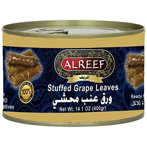 Alreef Stuffed Dolma Vine Leaves 400g, 4 Pack