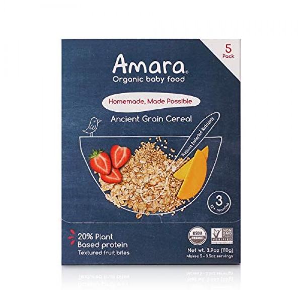 Amara Organic Baby Food   Ancient Grain   Homemade Made Possible...