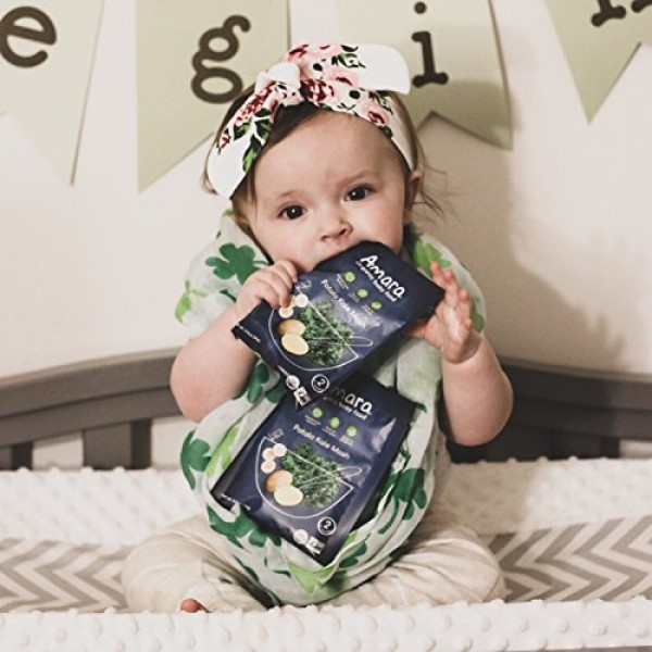Amara Organic Baby Food | Potato Kale Mash | Homemade Made Possi...