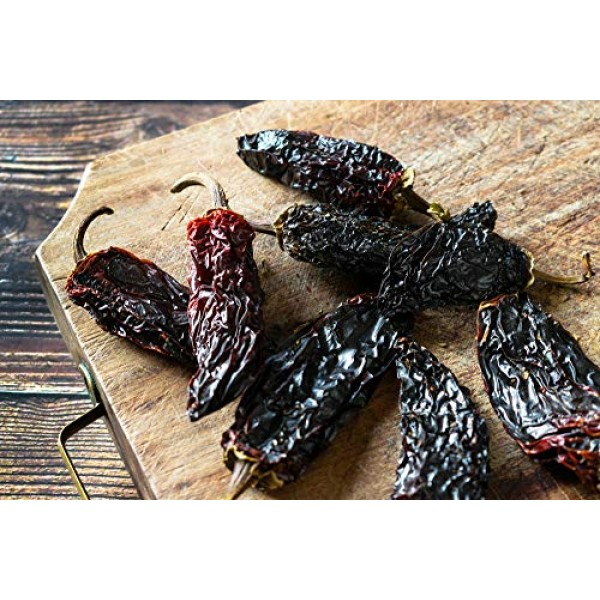 Dried Chipotle Morita Chile Peppers 5 oz – Robust Smokey Flavor,...