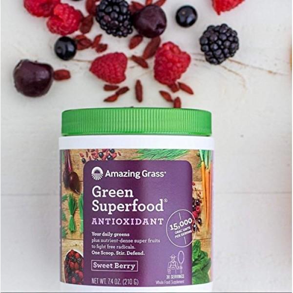 Amazing Grass Green Superfood Antioxidant: Organic Plant Based A...