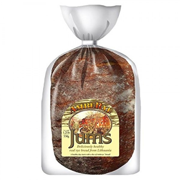Lithuanian AmbeRye Jums Hearty Rye Bread - All Natural Whole Gra...