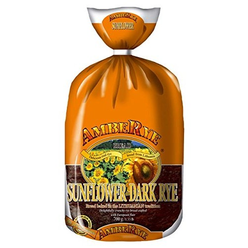 Lithuanian AmbeRye Sunflower Dark Rye Bread - All Natural Whole ...