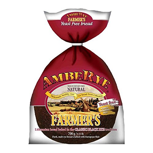 Lithuanian AmbeRye Yeast FREE Farmers Bread - All Natural Whole...