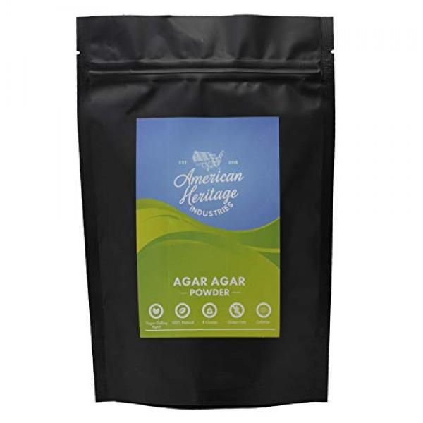 Agar Agar Powder, Vegan Cheese Powder and Vegan Gelling Agent, 4...