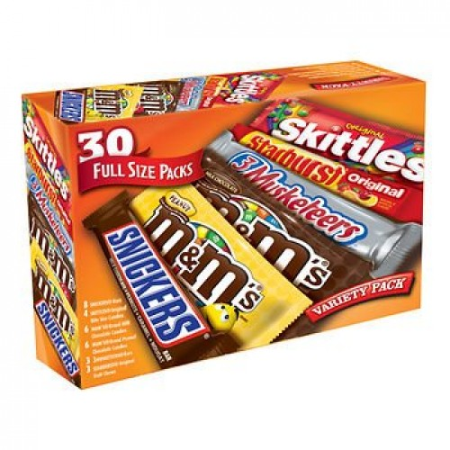 Mars Variety Pack, 30 ct.