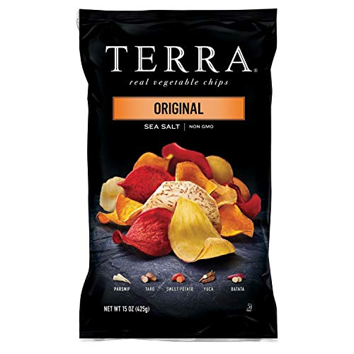 Terra Original Sea Salt Vegetable Chips, 15 oz., Pack of 2 SA
