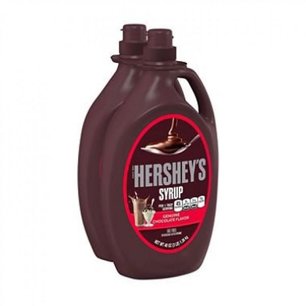 Hersheys Chocolate Syrup 48 oz, 2 ct. AS