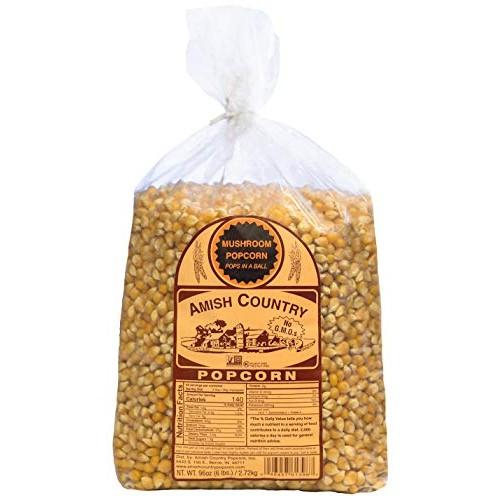 Amish Country Popcorn | 6 lb Bag | Mushroom Popcorn Kernels | Ol...
