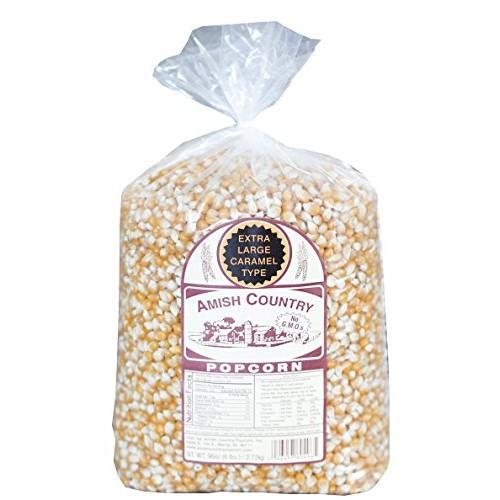 Amish Country Popcorn - 6 Lb Extra Large Caramel Type Kernels - ...