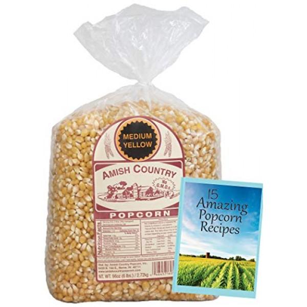 Amish Country Popcorn - Yellow Popcorn - Old Fashioned, Non GMO,...
