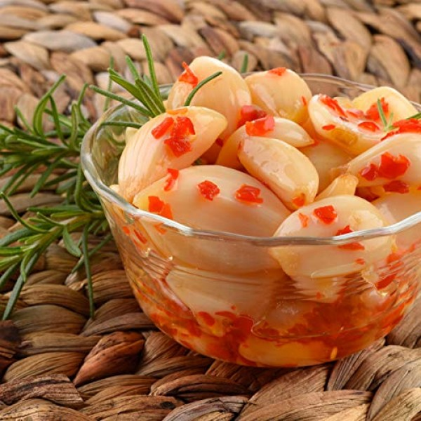 Amish Valley Products Country Pickled Garlic Sweet or Hot Flavor...