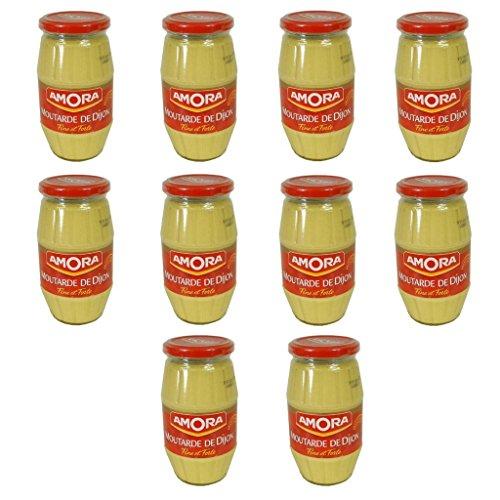 Amora Dijon Mustard Pack of 10 Large Jar