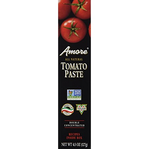 Amore Tomato Paste, 4.5oz 127g Double Concentrated Tube