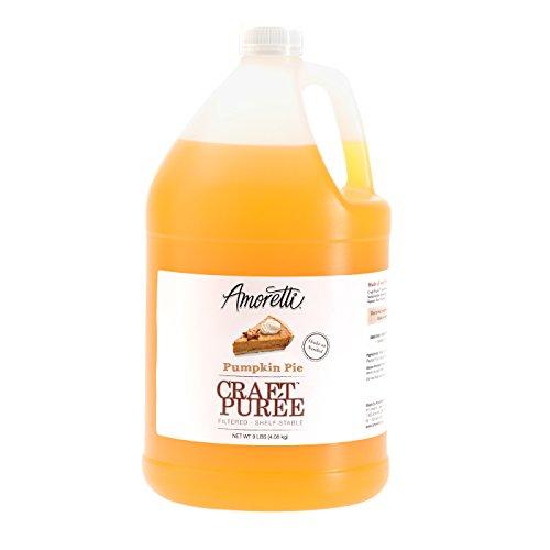 Amoretti Puree Craft, Pumpkin Pie, 9 Pound
