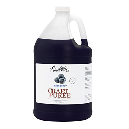 Amoretti Craft Puree, Blueberry, 9 Pound