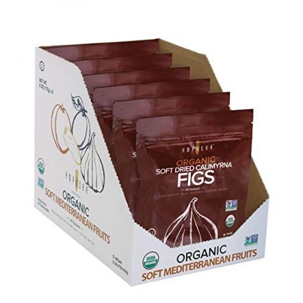 Dried Figs - All Natural Organic Soft Dried Calimyrna Figs - Veg...