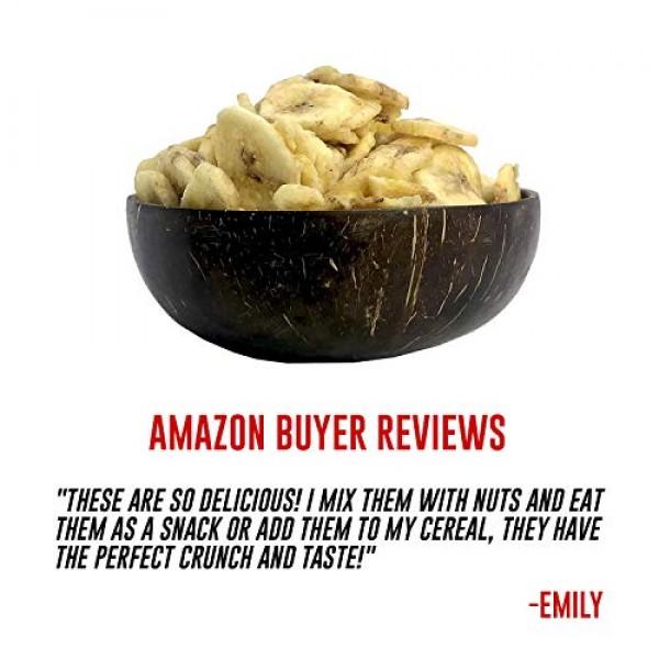 Amrita Foods - Banana Chips, Sweetened, 8oz, Top 9 Allergy Free,...