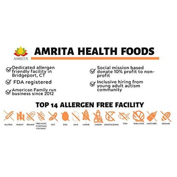 Amrita Foods - Dried Papaya Chunks, Sweetened, 1 LB, Gluten-Free...