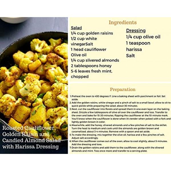 Amrita Foods - Golden Raisins, 1 LB, Gluten Free Dried Fruit Sna...