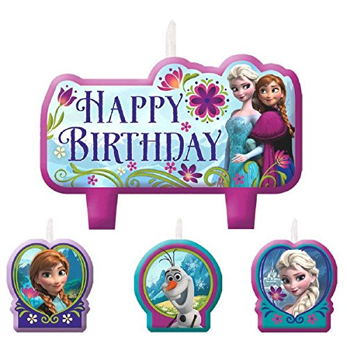 AMSCAN 171416 Birthday Candle Set | Disney Frozen Collection | P...