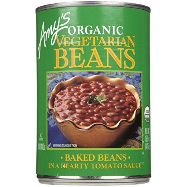 Amys Organic Vegetarian Baked Beans - 15 oz