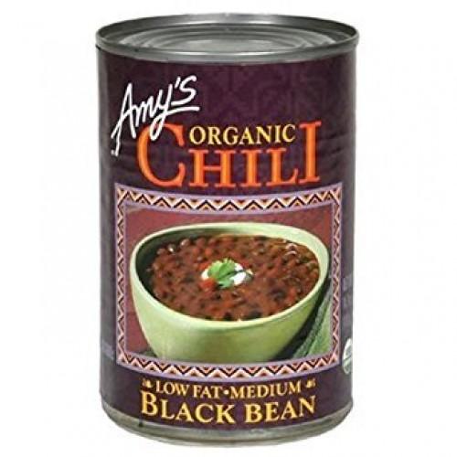 Amys, Chili Black Bean Organic, 14.7 Ounce