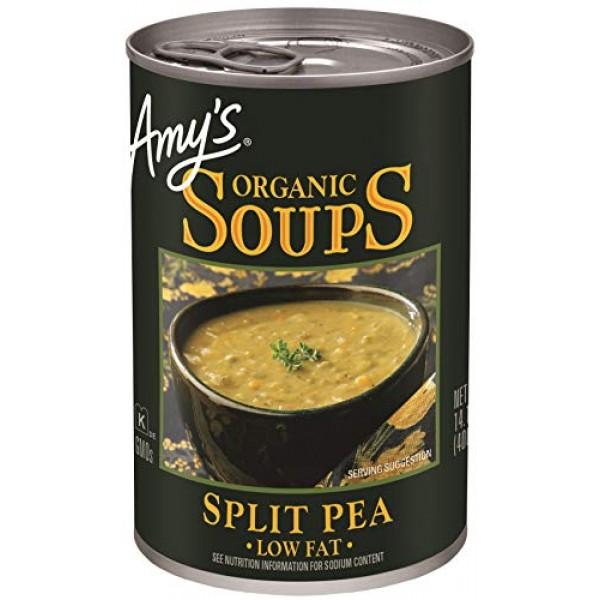 Amys, Organic Soups, Split Pea, 14.1 oz