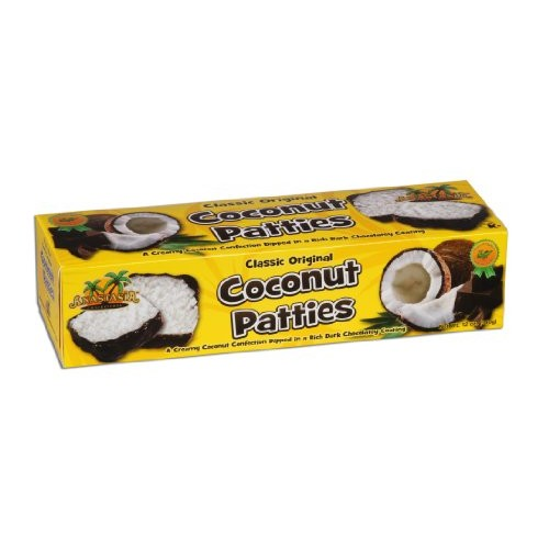 Anastasia Confections Coconut Patties, Original, 12-Ounce Pack ...